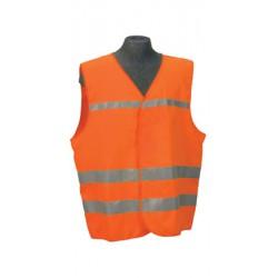 Jólláthatósági mellény – narancs Jólláthatósági ruházat Ruházat